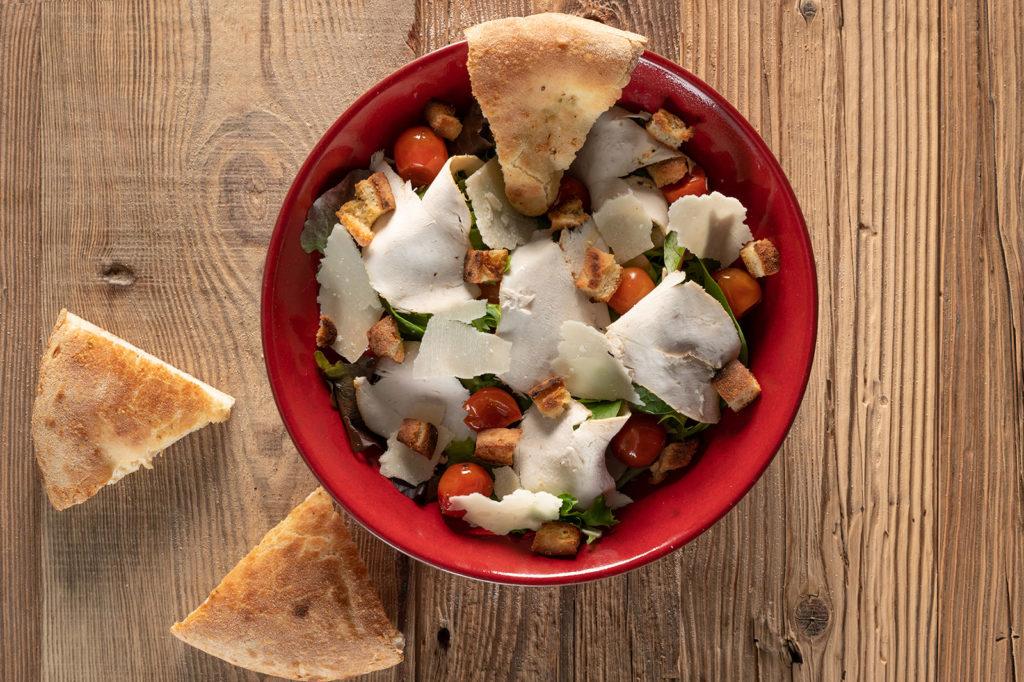 La salade César chez Jordan Tomas Pizza